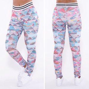 Adidas Pants Adigirl Marble